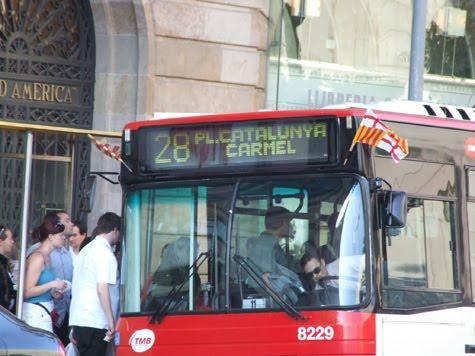autobus senyera